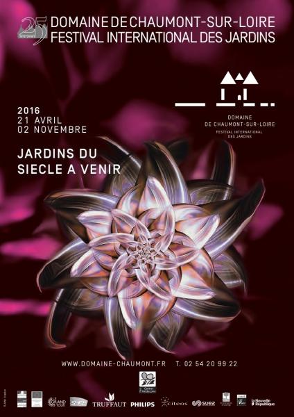 Jardin parc du ch teau de chaumont chaumont sur loire for Festival des jardins 2016