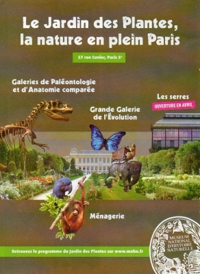Jardin Jardin des Plantes, Paris