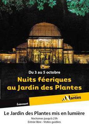 Jardin Jardin des plantes et Jardin botanique de Nantes, Nantes