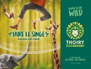 Born to be wild, faire le singe, Safari air park - 2018