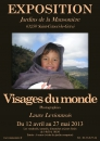 - Visages du monde, photographies Laure Levionnois - 2013  - 1380
